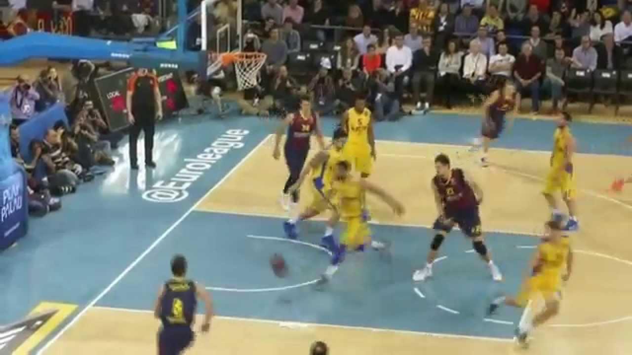 FC Barcelona - Maccabi Tel Aviv (89-71) Euroleague 2015 12/03/2015