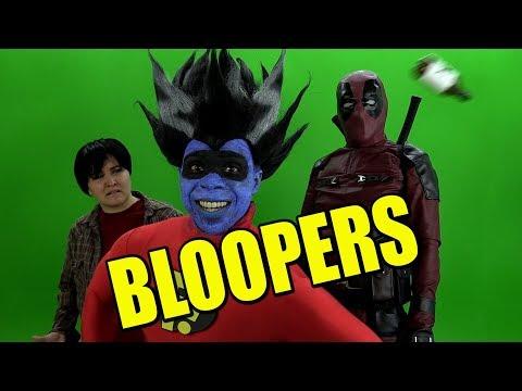 Deadpool 2 Review Bloopers