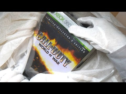 Thumbnail: CALL OF DUTY WORLD AT WAR COLLECTOR'S EDITION UNBOXING! Zombies & Ray Gun Easter Egg Gameplay
