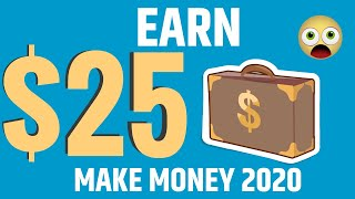 HOW To Earn $25 Per Hour with One CLICK (Make Money Online 2020)