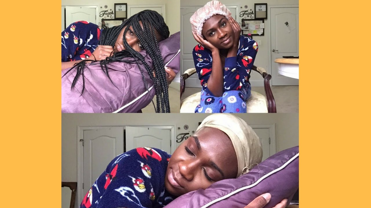 How To Shower And Sleep With Long Braids Found The Magic Scarf