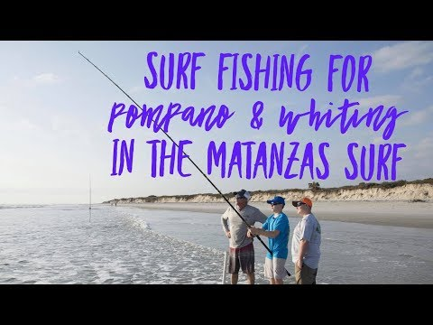 Surf Fishing For Pompano And Whiting In Matanzas