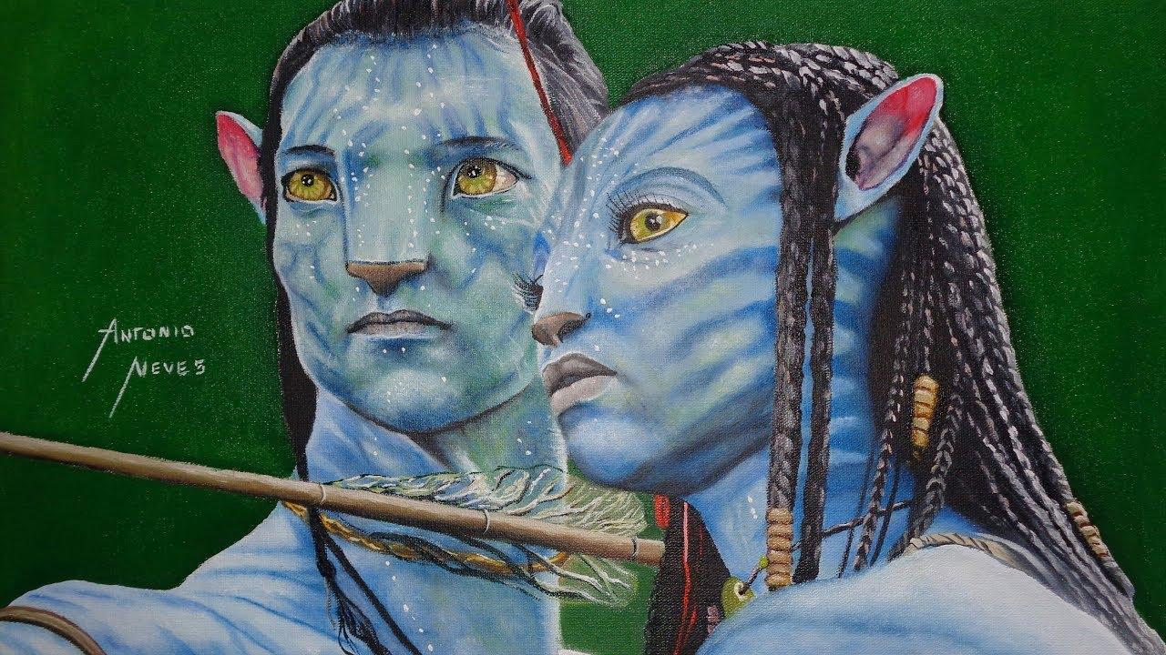 Desenho Incrivel Do Avatar Realista Realistic Avatar Incredible