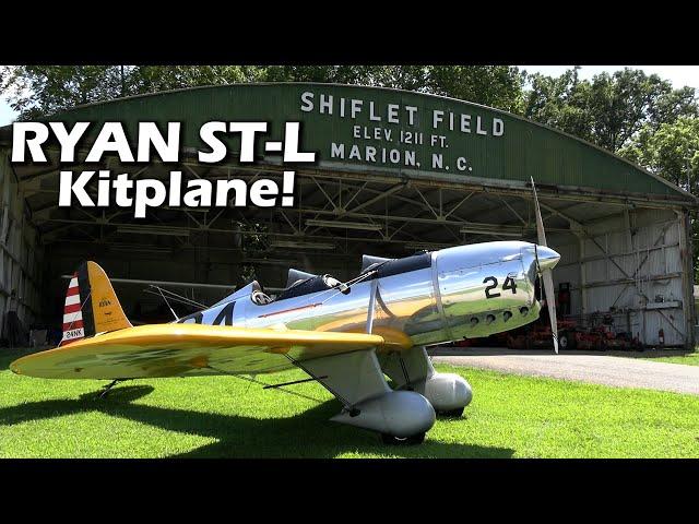 The New RYAN ST-L KITPLANE! Build a Piece of History