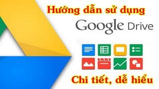 Hướng dẫn sử dụng Google Drive ( chi tiết, dễ hiểu ) | Tất tần tật về Google Drive