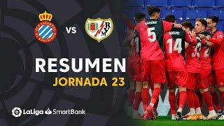 Resumen de RCD Espanyol vs Rayo Vallecano (2-3)