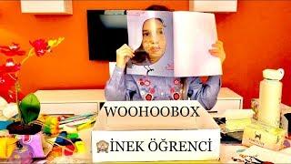 Okul Alışverişi İçin Sevimli Seçenek Woohoobox Yes You Can-İnek Öğrenci Kutu Açılımı. Ecrin Su Çoban