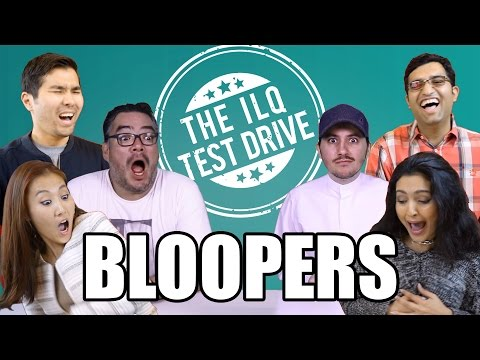 [ILQ Test Drive] Gag reel - the best of bloopers!