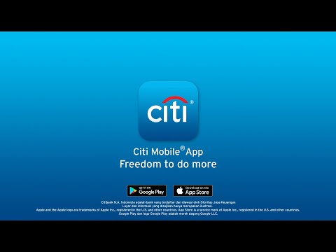 Citi Mobile – Freedom To Do More