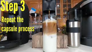 How to make an Iced Latte with your Nespresso Machine