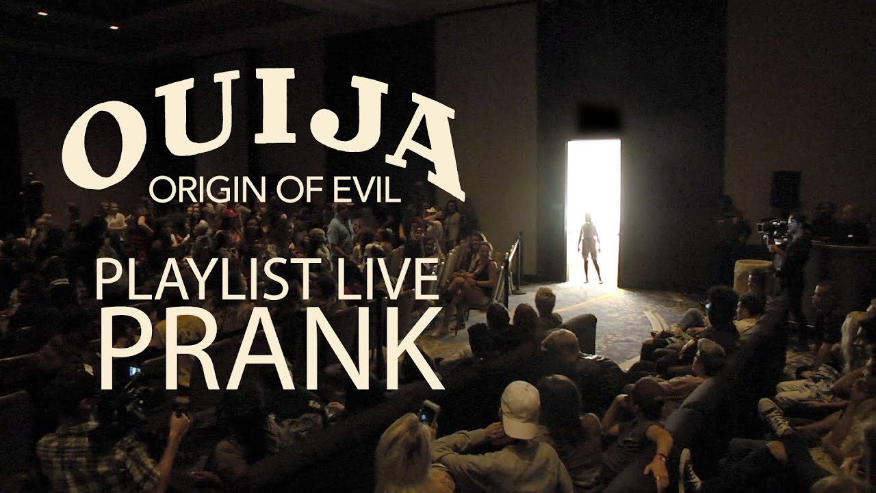 Ouija: Origin of Evil - Playlist Live Prank (HD)