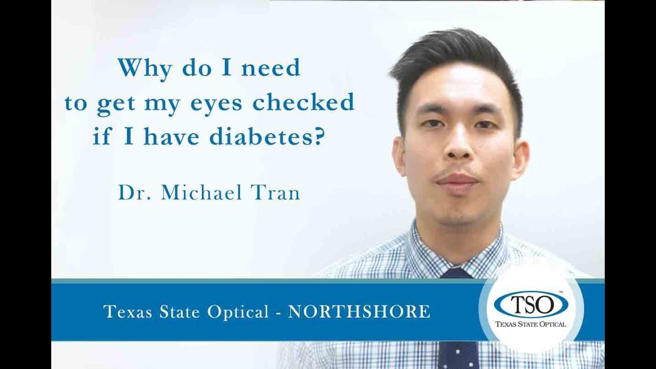 0c377b3497b Texas State Optical Northshore - Eye Care for Diabetes - YouTube