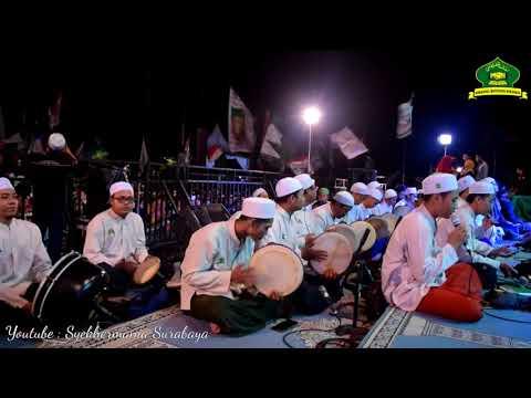 Ahbaabul Musthofa Surabaya - Rouhi Fidak (Masjid Al Akbar Bersholawat 2018)