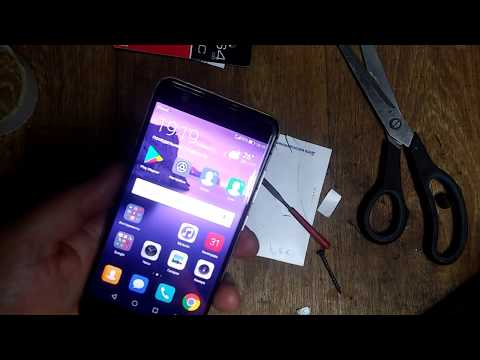 Huawei Nova переделываем слот под две симки и флешку