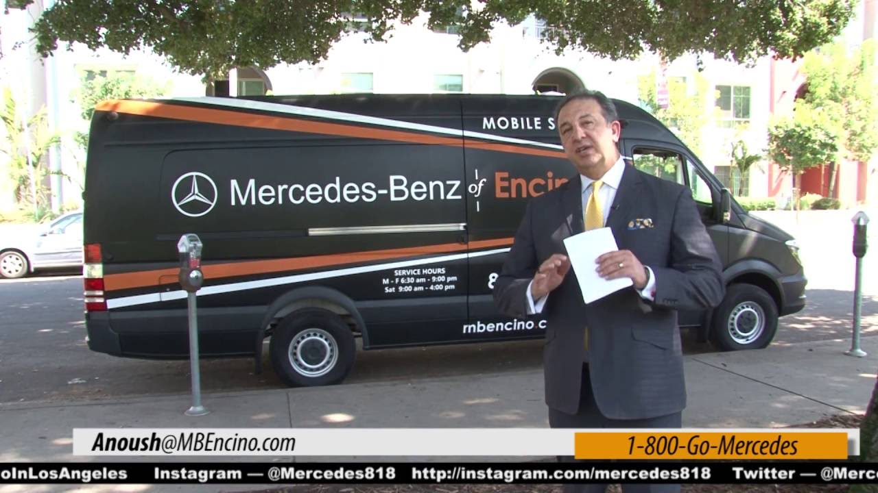 Mobile Service saves time to get your MBZ serviced @ Mercedes Benz ...