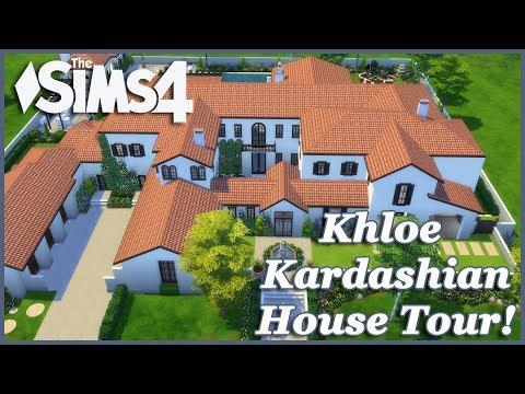 The Sims 4 - Khloe Kardashian Mansion (House Tour)