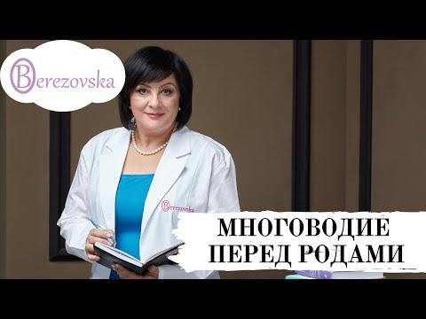 Др. Елена Березовская - Многоводие перед родами