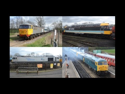 Nene Valley Railway Convoy & Loco Moves, 7th April 2016