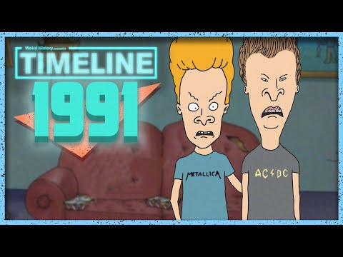Timeline 1991 - Everything That Happened In '91
