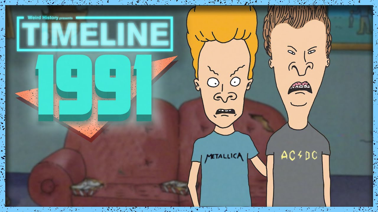 Download Timeline 1991 - Everything That Happened In '91