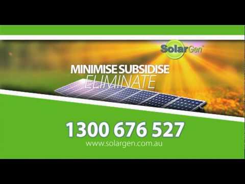 Solargen on TV - Solar Power and Solar Panels