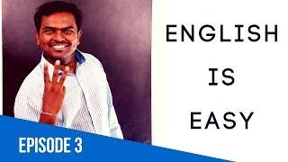 ஆங்கிலம் பேச முடியும் - EPISODE 3 - LEARN ENGLISH THROUGH TAMIL
