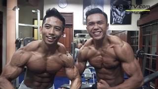 Muhammad Iqbal Fauzi & Zainul Irfan / Scitec Nutrition Indonesia