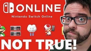 Why is Nintendo LYING about Switch Online?