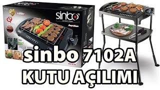 A101'den aldığımız Sinbo SBG-7102A Elektrikli Izgaranın Kutu Açılışı, kurulum, incelemesini yaptık