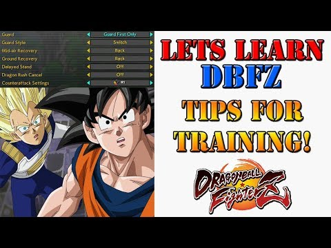 """Lets learn DBFZ! - How to use """"Guard First"""" to optimize your training!"""