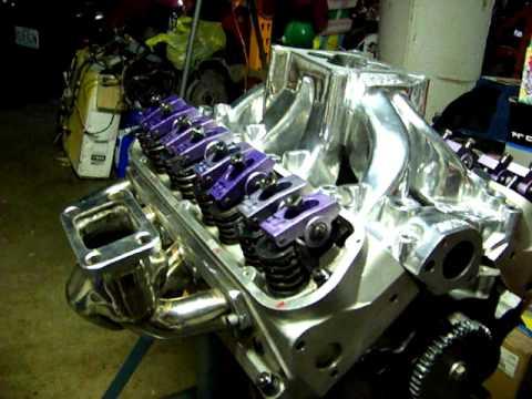 STOCK 302 ford HO BLOCK turbo build part 12