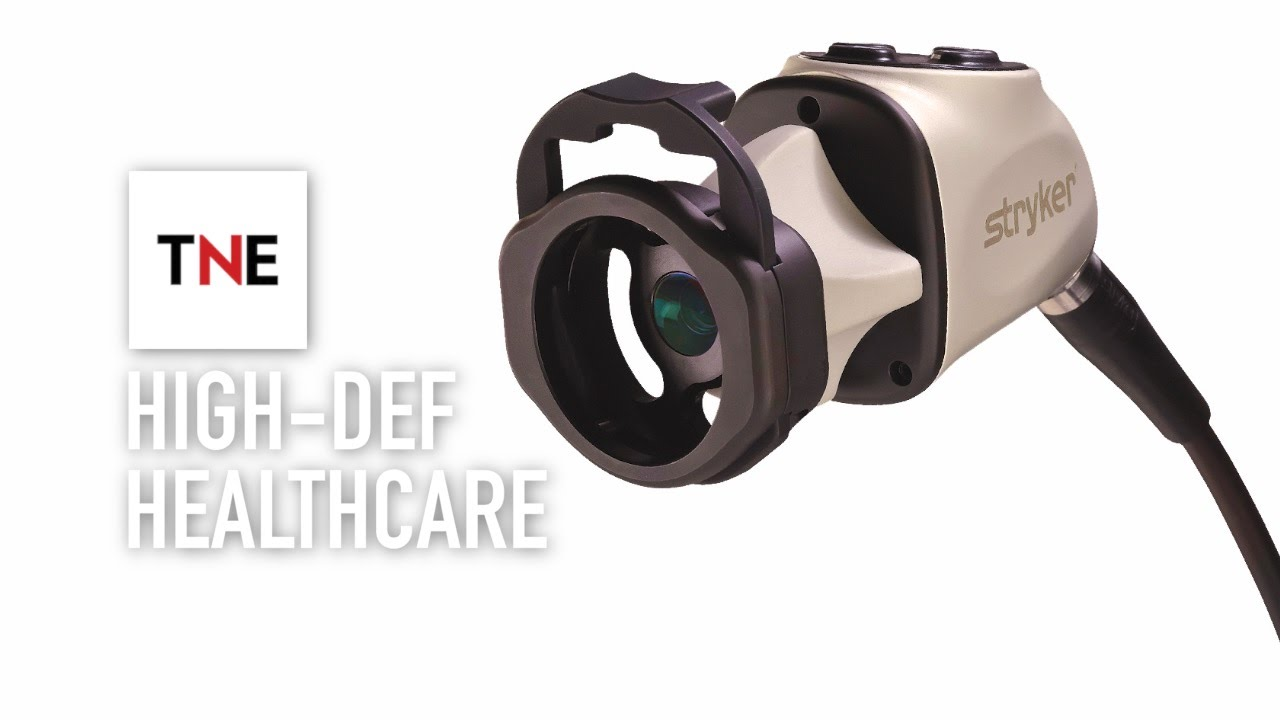 Stryker's high-tech camera revolutionises endoscopic surgery | The New  Economy Videos
