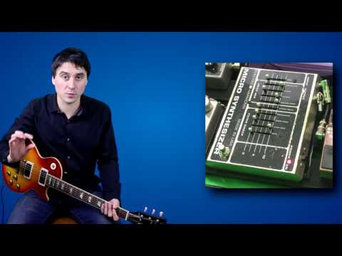 Electro Harmonix Micro Synth How To Use