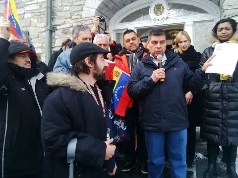 Canadians express their solidarity with Venezuela with rally in Ottawa