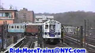 IRT Nostalgia Train on the 1 Line