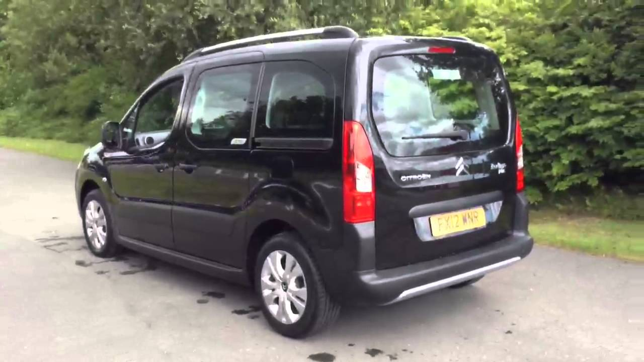 citroen berlingo multispace xtr hdi black 2012 youtube. Black Bedroom Furniture Sets. Home Design Ideas