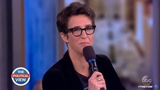 Rachel Maddow Talks Releasing Pres. Trump