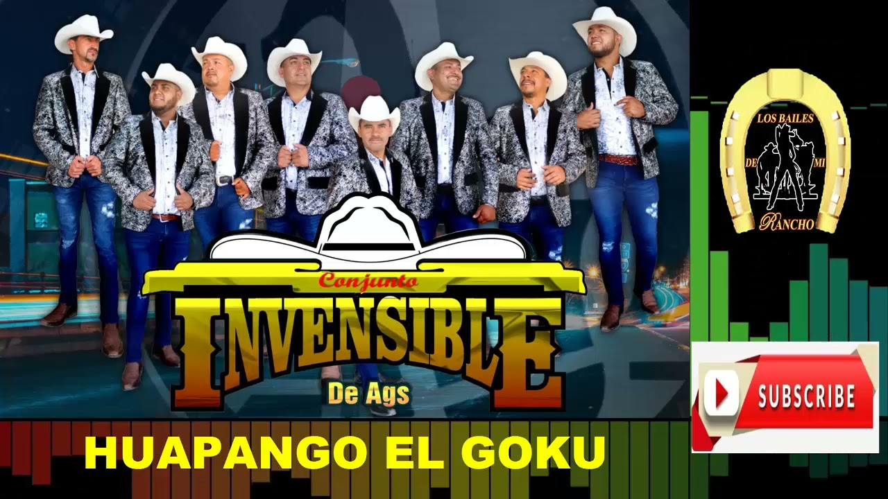 CONJUNTO INVENSIBLE DE AGS - HUAPANGO EL GOKU - EN VIVO