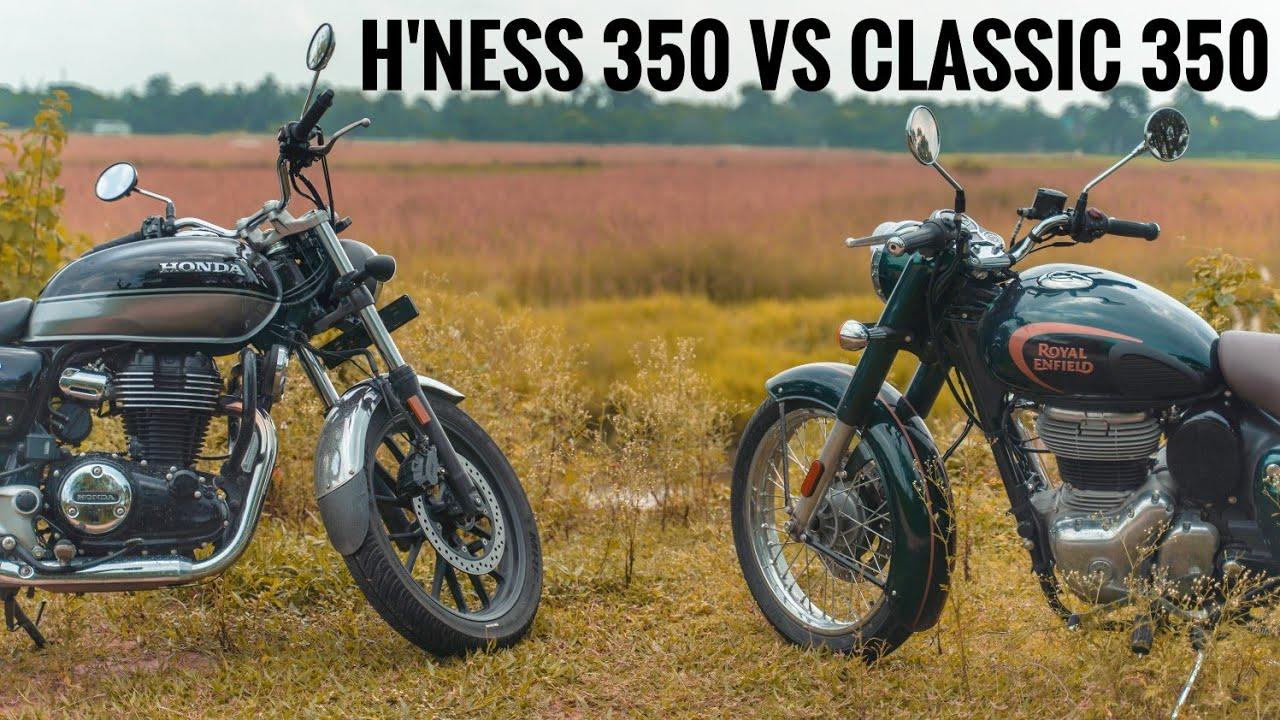 RE Classic 350 vs Honda H'ness CB350 Review | Highway test | RWR