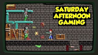 Dangerous Dave in the Haunted Mansion (DOS) - When Doom meets Keen - Saturday Afternoon Gaming
