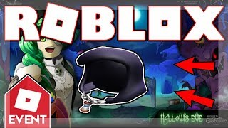 [EVENT 2018 ENDED!] How to get the GRIM REAPER'S HOOD! | Roblox Hallow's Eve: Sinister Swamp