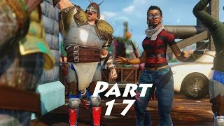 Sunset Overdrive Gameplay Walkthrough Part 17- King Scab (XBOX ONE Gameplay)