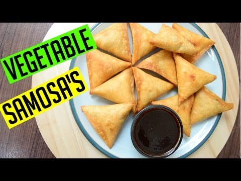 Vegetable Samosa's | Ramadan Recipes | Indian Cooking Recipes | Cook with Anisa