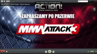 Robert Burneika vs Dawid Ozdoba HARDKOROWY KOKSU Gala MMA ATTACK 3 27 04 2013 WALKA 2017 Video