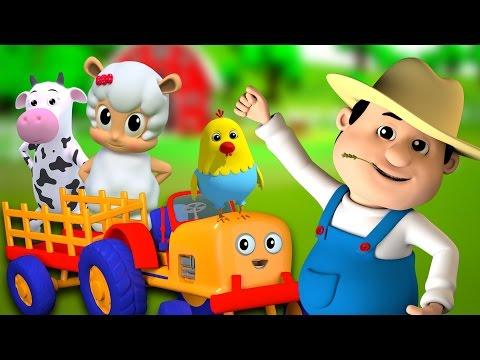 Viejo Mac Donald | Rimas infantiles | Canción para niños | Rhyme For Kids | Old Mac Donald Had Farm