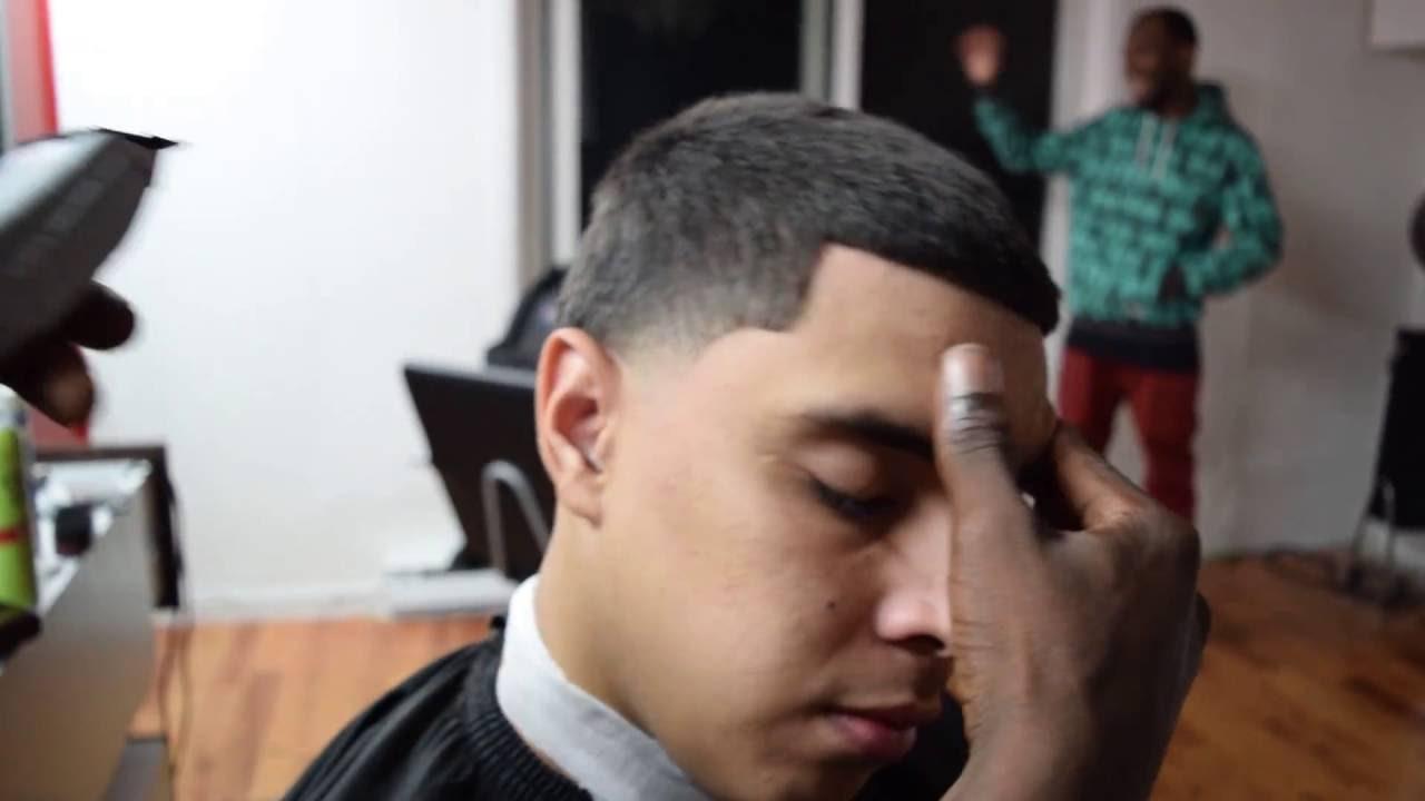 coiffure homme degrade bas