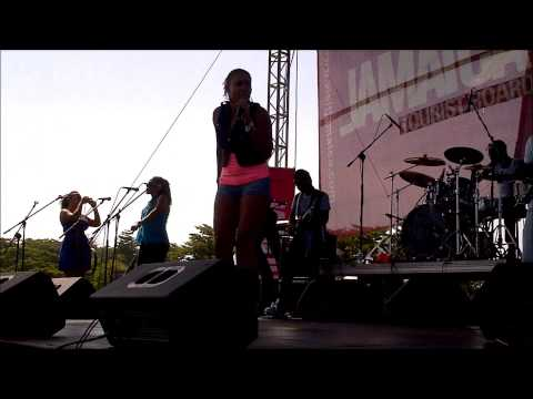 Monifa Henry and Persons of Interest Live at Portland Jerk Fest 2013