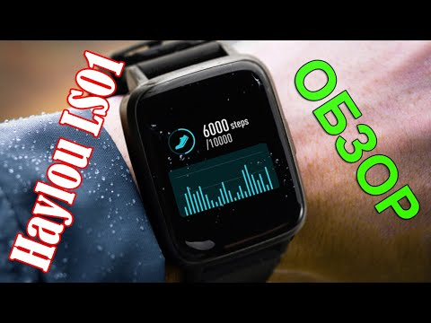 ⏰ Обзор ⌚ Часы Haylou LS01 Smart Watch 🎦 148