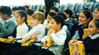 TOYOTA KIDS' ROAD SAFETY в гостях у школы-лицей №59 г.Астаны