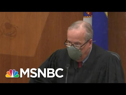 Judge Rules Derek Chauvin Trial Will Not Be Delayed Or Moved | Hallie Jackson | MSNBC